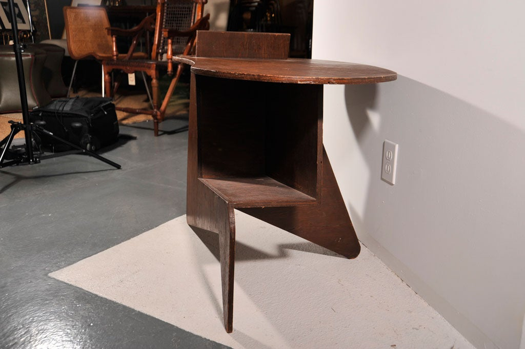 Cut Plywood End Table 1