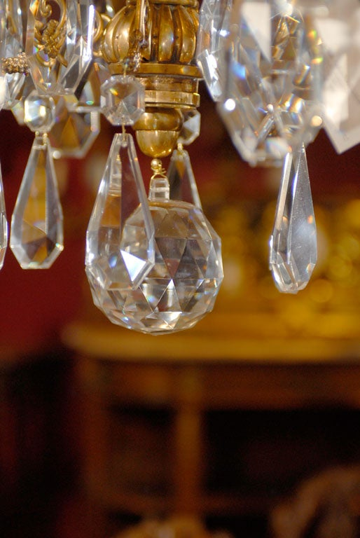 Antique Chandelier. Empire style chandelier For Sale 1