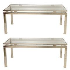 Maison Jansen pair of coffee table