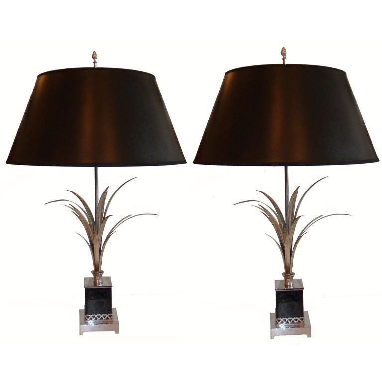 Charles and fils pair of table lamps for sale at 1stdibs for Table franco et fils