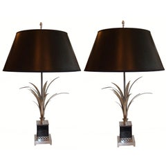 Charles & Fils Pair of Table Lamps