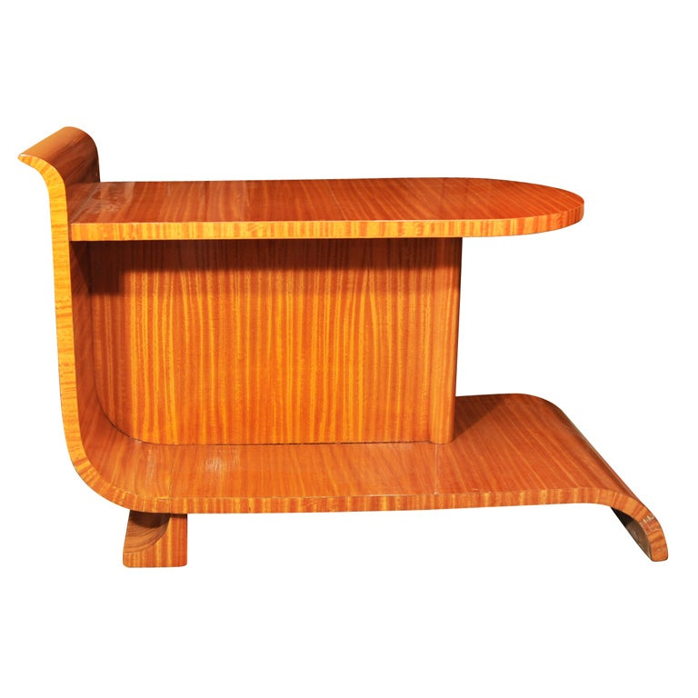 Unusual art deco occasional table for sale at 1stdibs for Unusual tables for sale