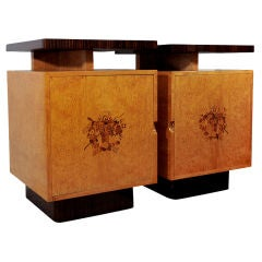 Rare Pair of Side Cabinets by Andrew Szoeke