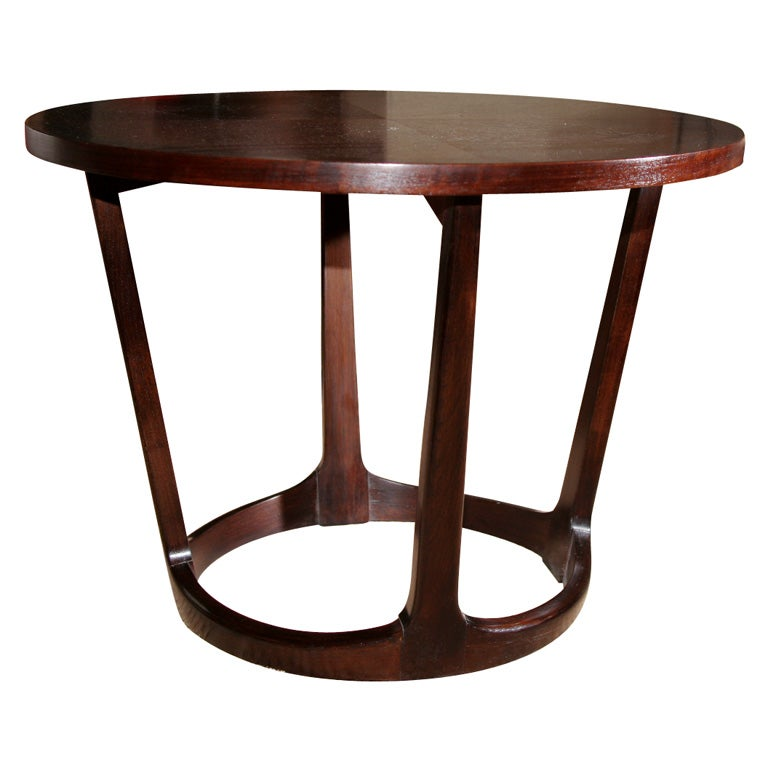 Round Side Table By Lane At 1stdibs