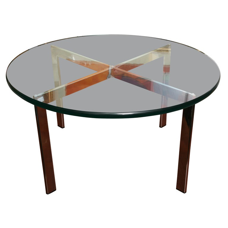 knoll mies van der rohe coffe table at 1stdibs. Black Bedroom Furniture Sets. Home Design Ideas