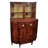Early 19th Century Mahogany Breakfront Display Cabinet