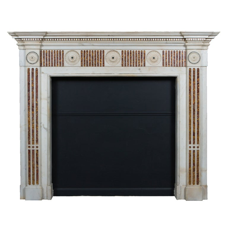 Irish Georgian Marble Mantle Piece At 1stdibs