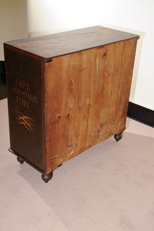Ship Captain S Style Chest At 1stdibs