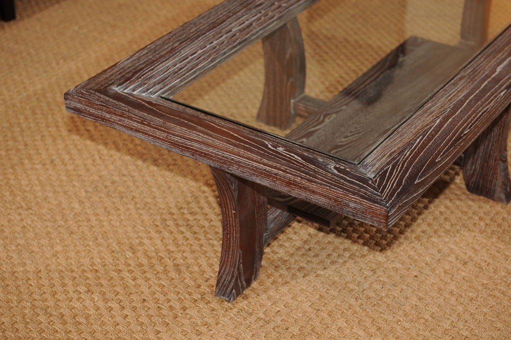 American Paul Frankl Coffee Table For Sale
