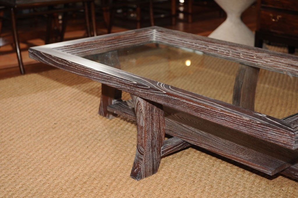 Glass Paul Frankl Coffee Table For Sale