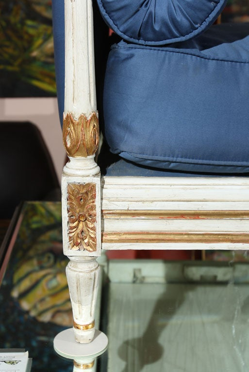 Louis XVI Style Daybed Stamped Jansen 7