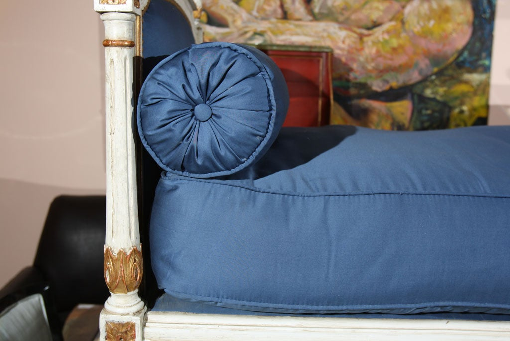 Louis XVI Style Daybed Stamped Jansen 8