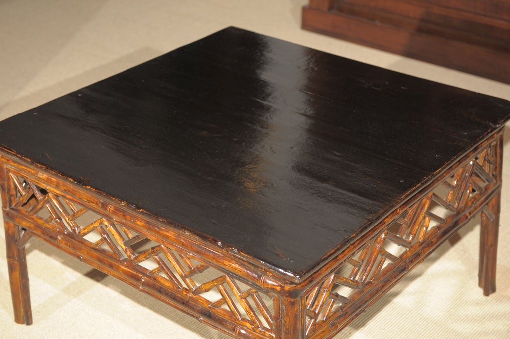 Chinese Bamboo Coffee Table At 1stdibs