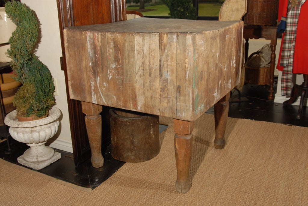 Antique Butcher Block 2