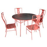 Salterini 'Montego' Table and Four Chairs