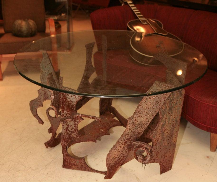 Brutalist Centre Table For Sale 2