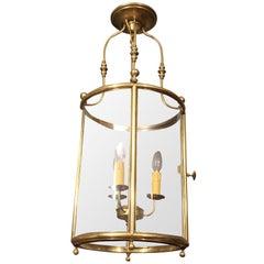 Georgian Brass Circular Lantern