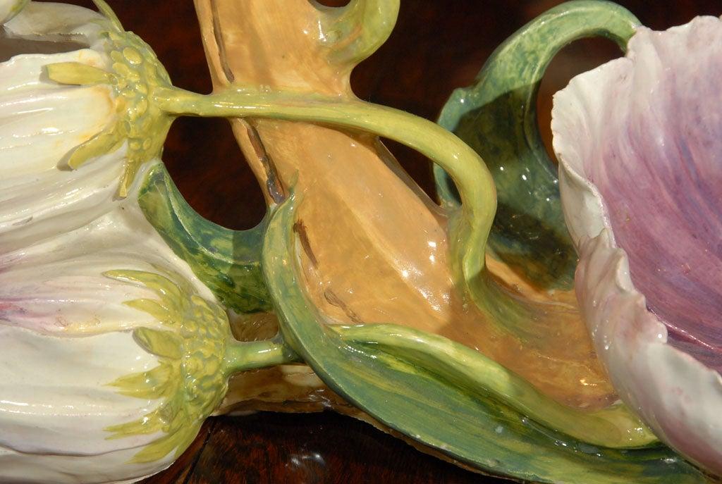 Italian Coupe Naturaliste Art Pottery Centerpiece 8