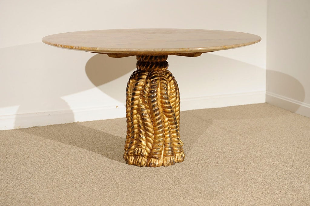This Italian Marble Amp Gilt Wood Side Table Is No Longer Available
