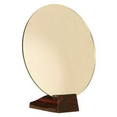 Emile-Jacques Ruhlmann Macassar Ebony Mirror Art Deco 1930