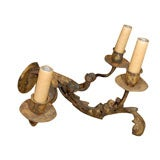 Tole 3 Light Chandelier For Sale At 1stdibs