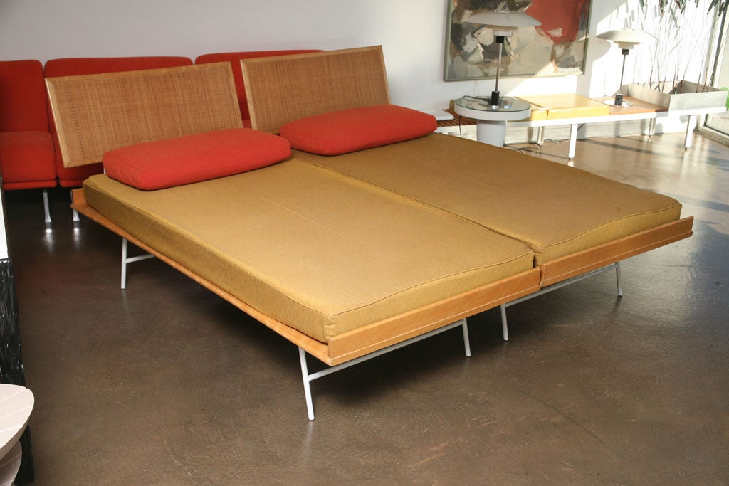 Pair Of Thin Edge Beds By George Nelson For Herman