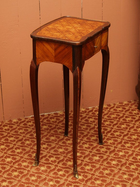 Fine Early 19th Century Marquetry Table 7
