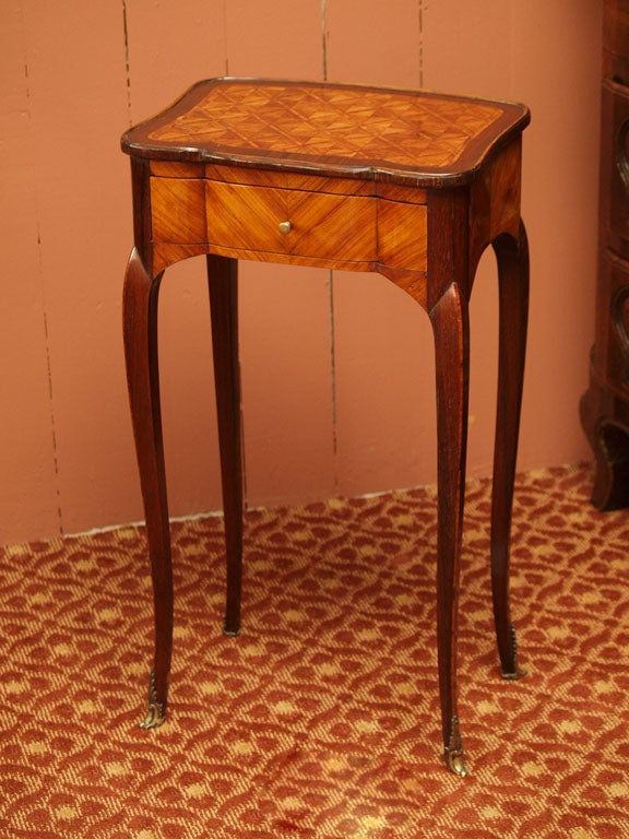 Fine Early 19th Century Marquetry Table 2