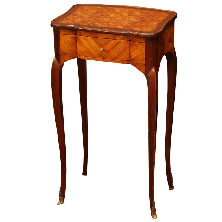 Fine Early 19th Century Marquetry Table