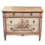 19th Century Louis XVI Painted  Commode