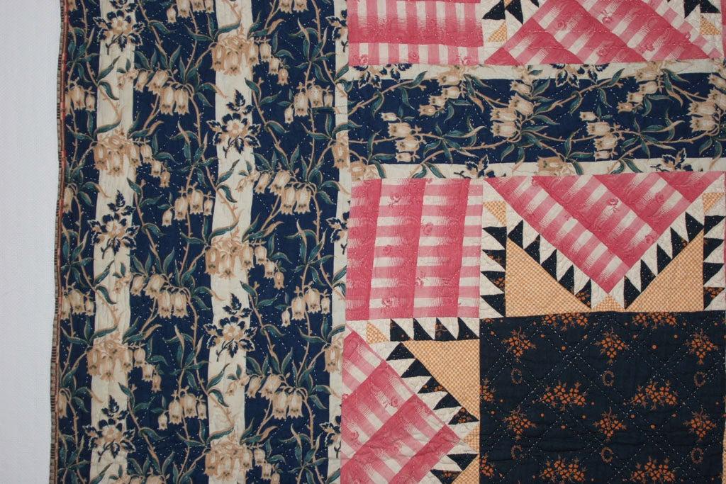 Antique Pieced Quilt: