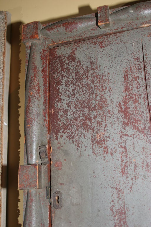 19th Century Federal Wall Cupboard. For Sale