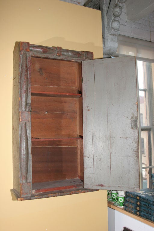 Federal Wall Cupboard. For Sale 1