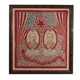 Campaign Bandanna:  Parker/Davis  1904.