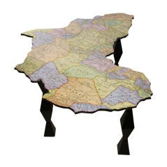 A Map of Africa Coffee Table by Doug Edge