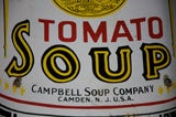 Early Campbell's Tomato Soup Curved Porcelain Advertising Sign image 3