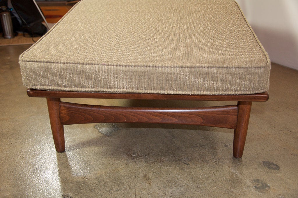 1950s Danish Chaise Lounge At 1stdibs