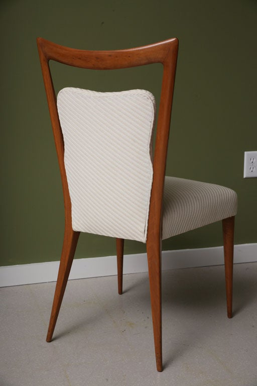 Mid century modern italian dining chairs at 1stdibs for Mid century furniture florida