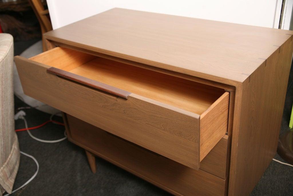 Mid-20th Century Danish Japanese Fusion Mid Century Dresser For Sale