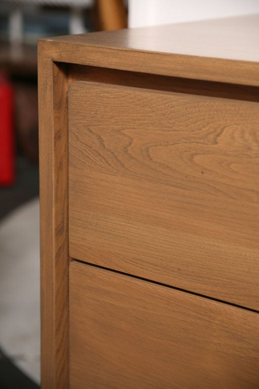 Danish Japanese Fusion Mid Century Dresser For Sale 4