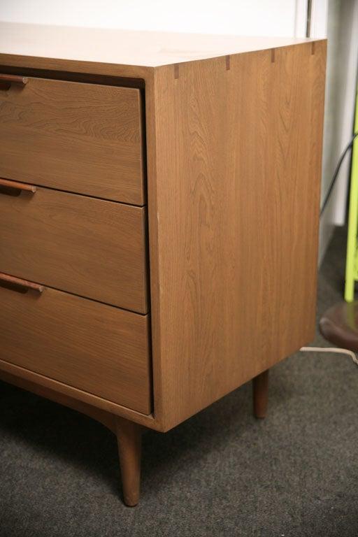 Danish Japanese Fusion Mid Century Dresser For Sale 6
