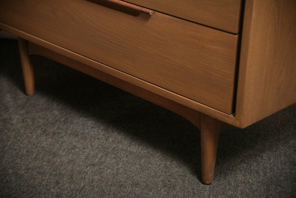 Danish Japanese Fusion Mid Century Dresser For Sale 7
