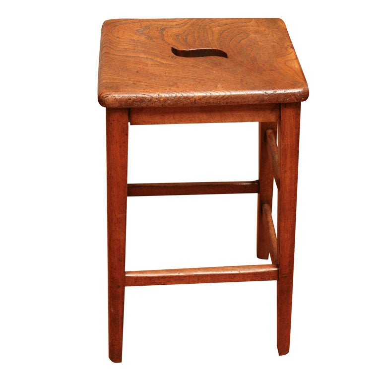 English Bar Stool At 1stdibs