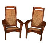Pair of American Camp Chairs