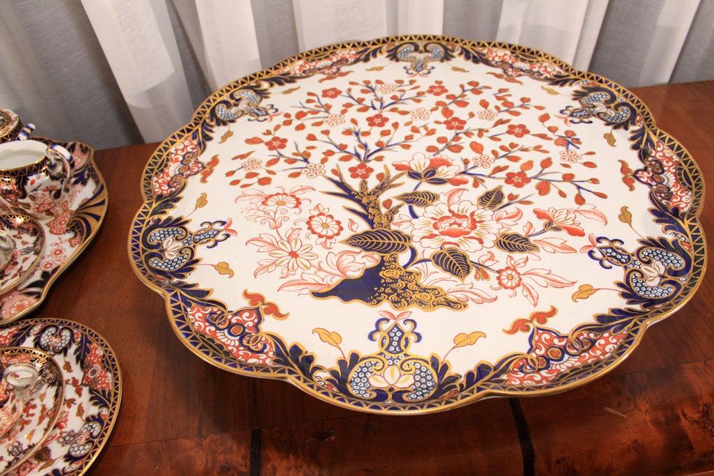 Royal Crown Derby Imari pattern tea set image 3