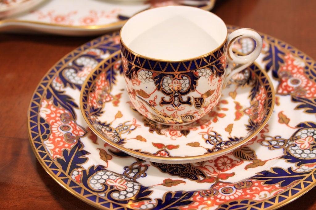 Royal Crown Derby Imari pattern tea set image 4
