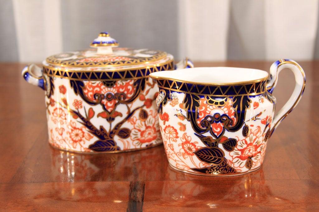 Royal Crown Derby Imari pattern tea set image 7