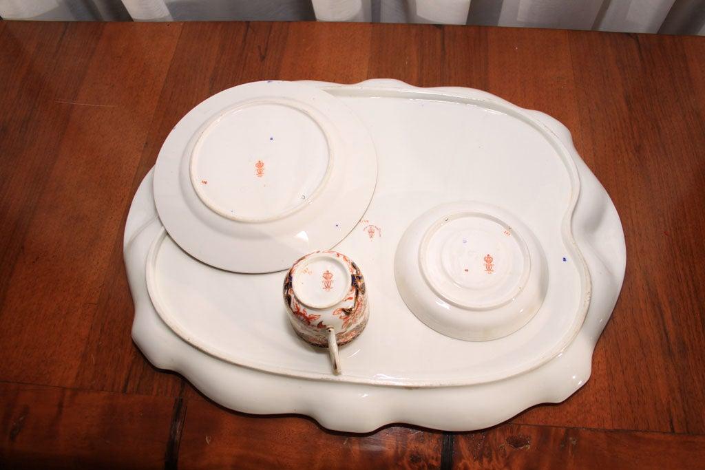 Royal Crown Derby Imari pattern tea set image 9