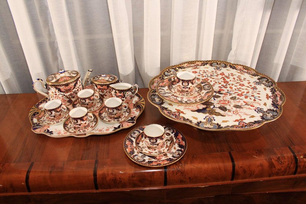 Royal Crown Derby Imari pattern tea set image 2