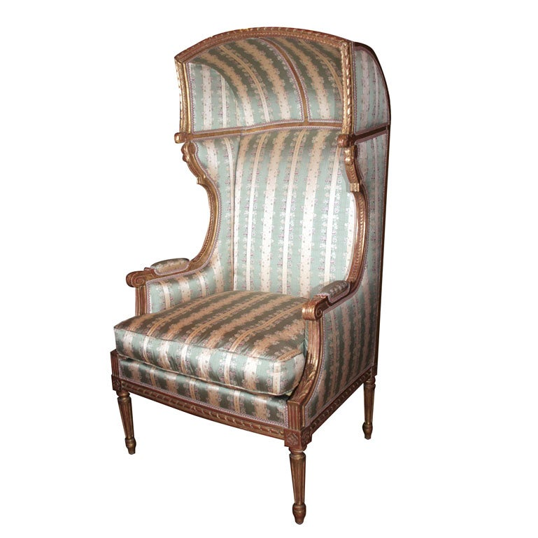 French Louis XVI Porters Chair at 1stdibs